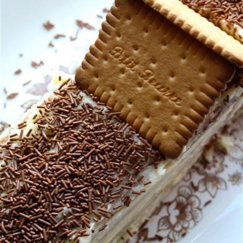 Oma's koekjes taart De IJshoeve