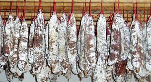 Droogworst van gans met Armagnac