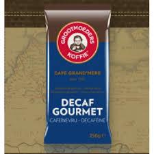 Grootmoeders Koffie Decaf Gourmet