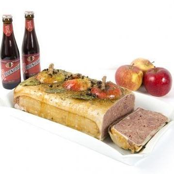 Roeselaarse paté met Rodenbach en appel