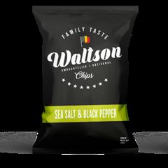 Chips Black pepper & seasalt Waltson