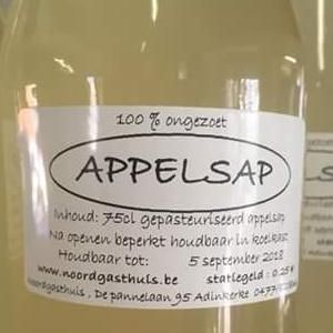 Puur appelsap Hoeve Noord Gasthuis