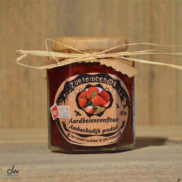 Aardbeienconfituur