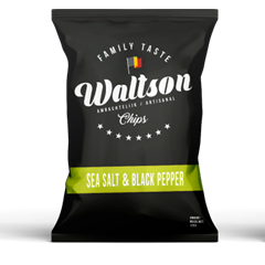 Chips Black pepper & seasalt Waltson